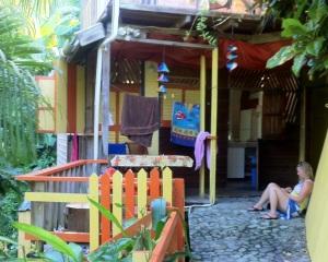 Notre villa aux couleurs vives