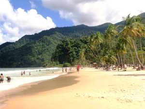 Maracas Beach in Trinidad