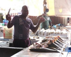 Le poisson frais du marché
