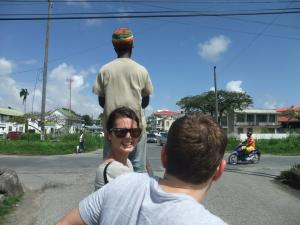 I miss getting lifts around town from Rasta tour guides
