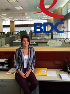 Back at the BDC Kitchener office!